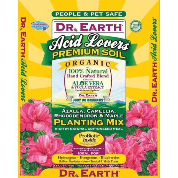 Dr. Earth Acid Lovers Planting Mix - 1.5 cubic ft. Best Price
