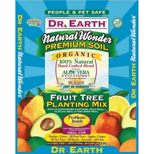 Dr. Earth Natural Wonder Fruit Tree Planting Mix - 1.5 CUBIC ft. Best Price