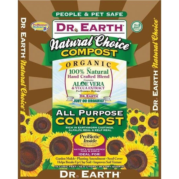 Dr. Earth Natural Choice Compost Mix - 1.5 ft. Best Price