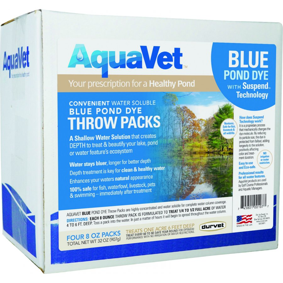 Blue Dye Water Soluble Throw Pack Best Price