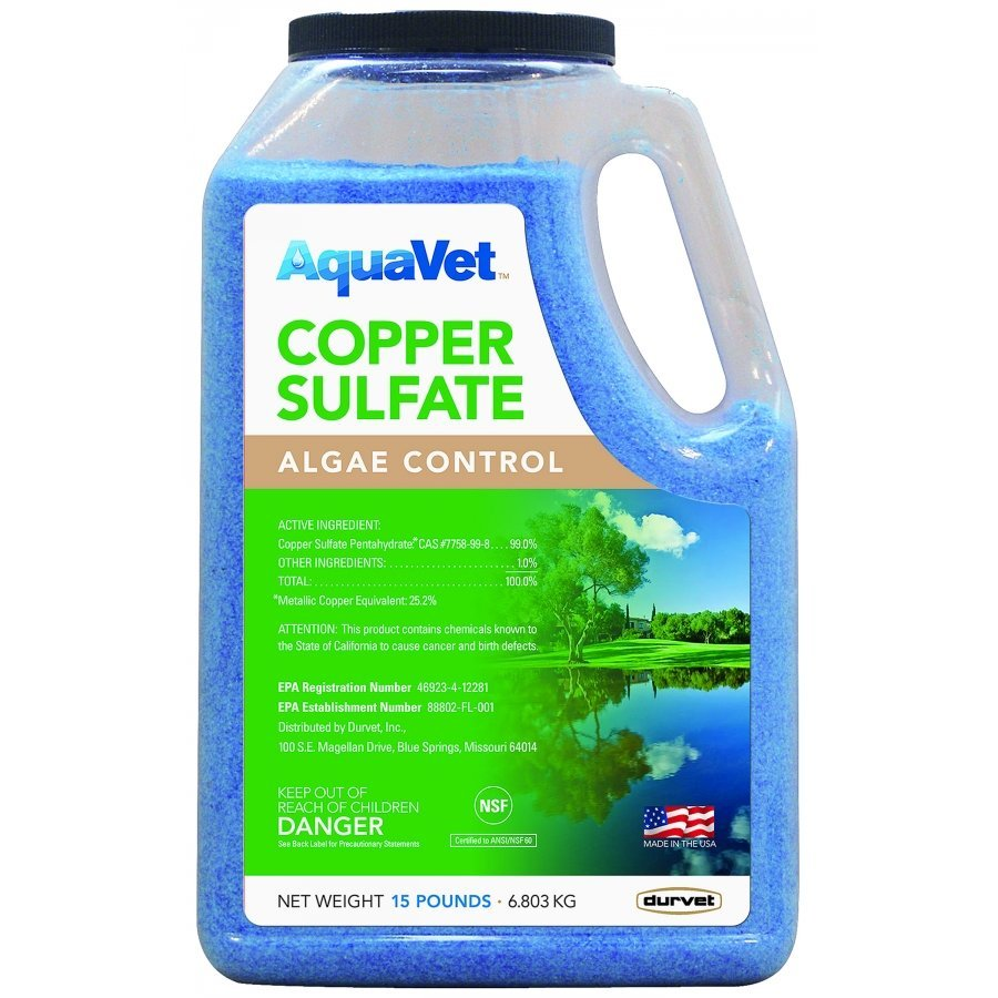 Copper Sulfate Granular Pond Algae Control - 15 lbs. Best Price