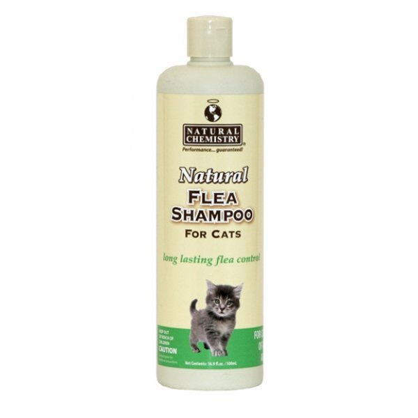 Natural Flea and Tick Shampoo for Cats 16 oz Best Price