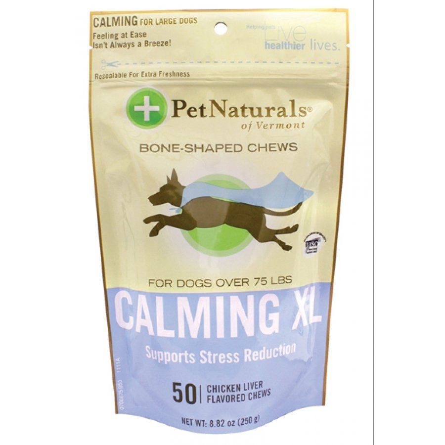 Calming XL Bone-shaped Chews For Dogs Over 75 Lbs - 50 ct. Best Price