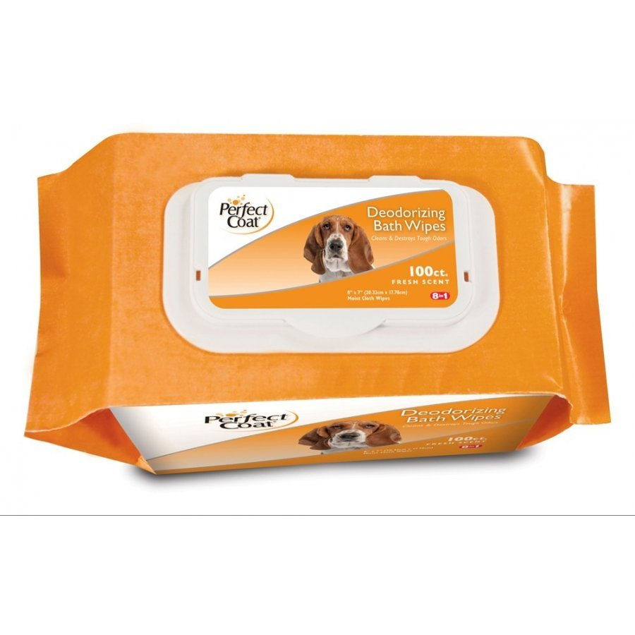 Dog Bath Wipes Value Tub 100 Ct. / Type Deodorizing