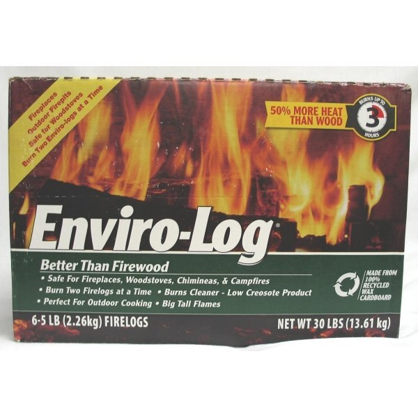 Enviro Log FireLogs / Size (5 lb each / 6 pk) Best Price