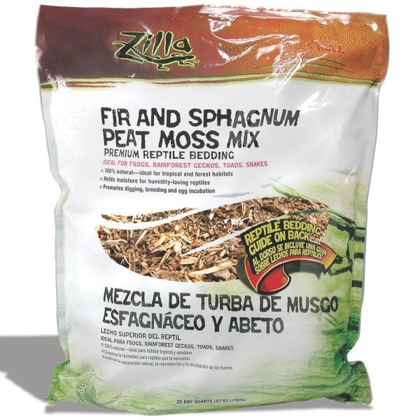 Fir and Sphagnum Peat Moss Reptile Litter / Size (25 qt.) Best Price