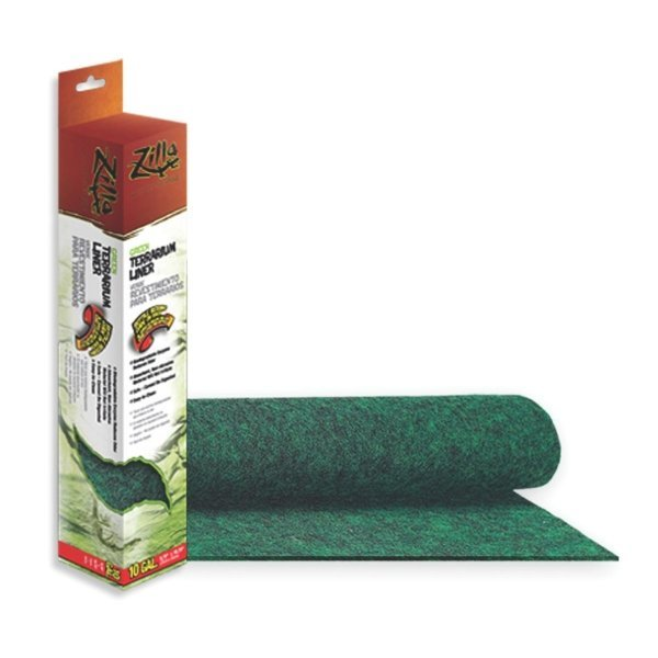 Terrarium Liner For Reptiles / Type Green/10 Gal