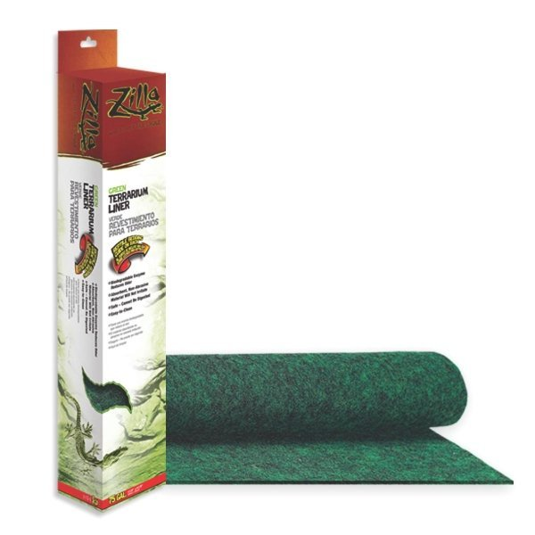 Terrarium Liner For Reptiles / Type Green/75 Gal