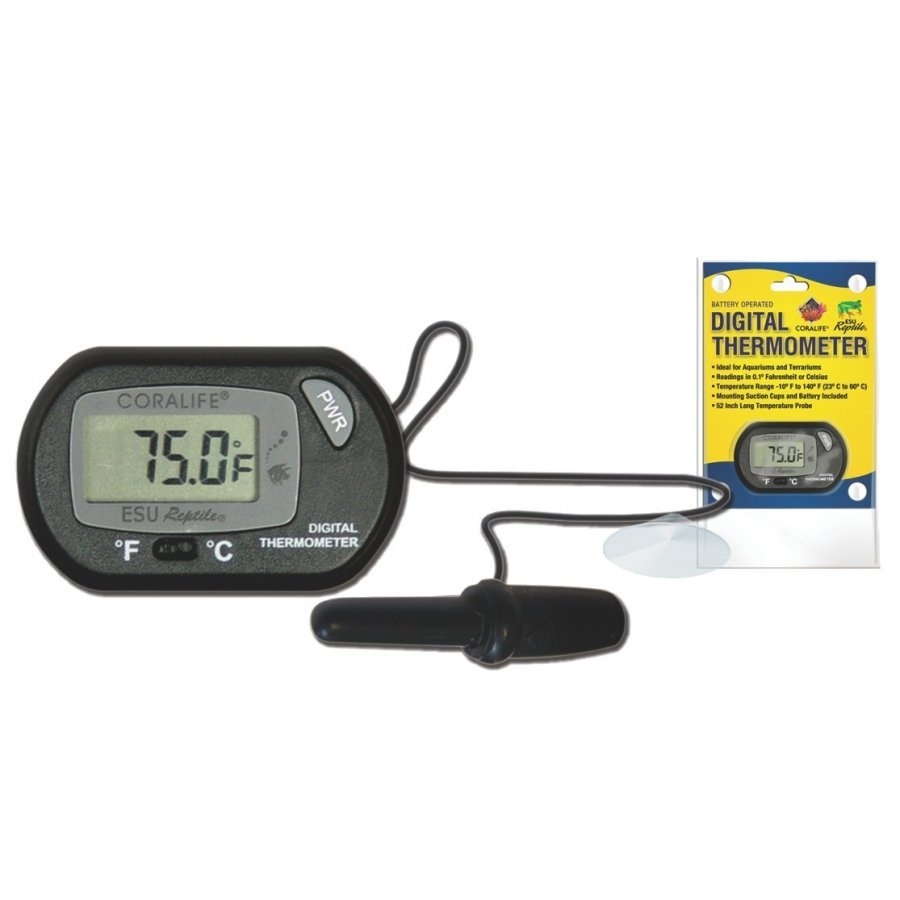 Digital Thermometer For Aquariums