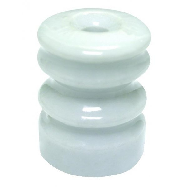 Ceramic Wood Post Insulator W/Washer 25 pack Best Price