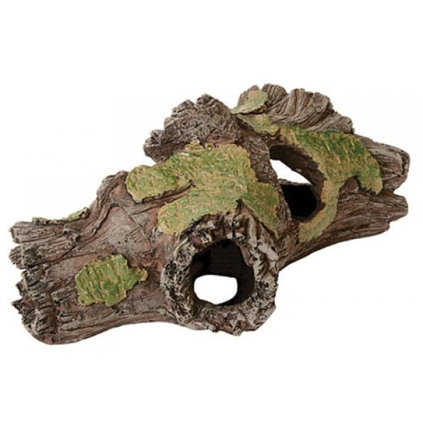 Design Elements Weathered Hollow Log Ornament Best Price
