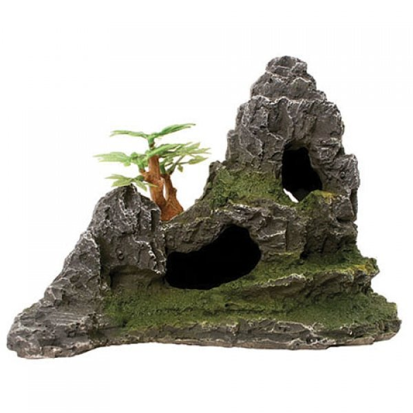 Design Elements Sloping Mountain W/ Cave Ornament Best Price
