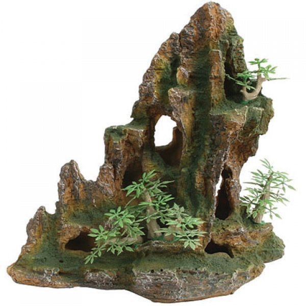 Design Elements Sloped Rocky Terrain Ornament Best Price