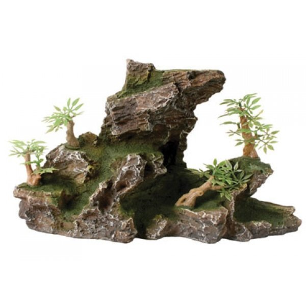 Design Elements Terraced Rocky Terrain Ornament Best Price