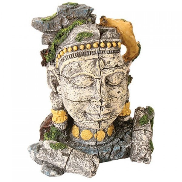 Design Elements Stone Jungle Face Ornament Best Price