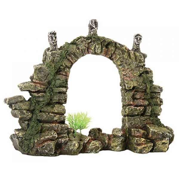 Design Elements Stone Arch Aquarium Ornament Best Price