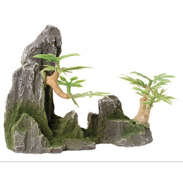 Design Elements Rock Canyon With Pagoda Ornament Best Price