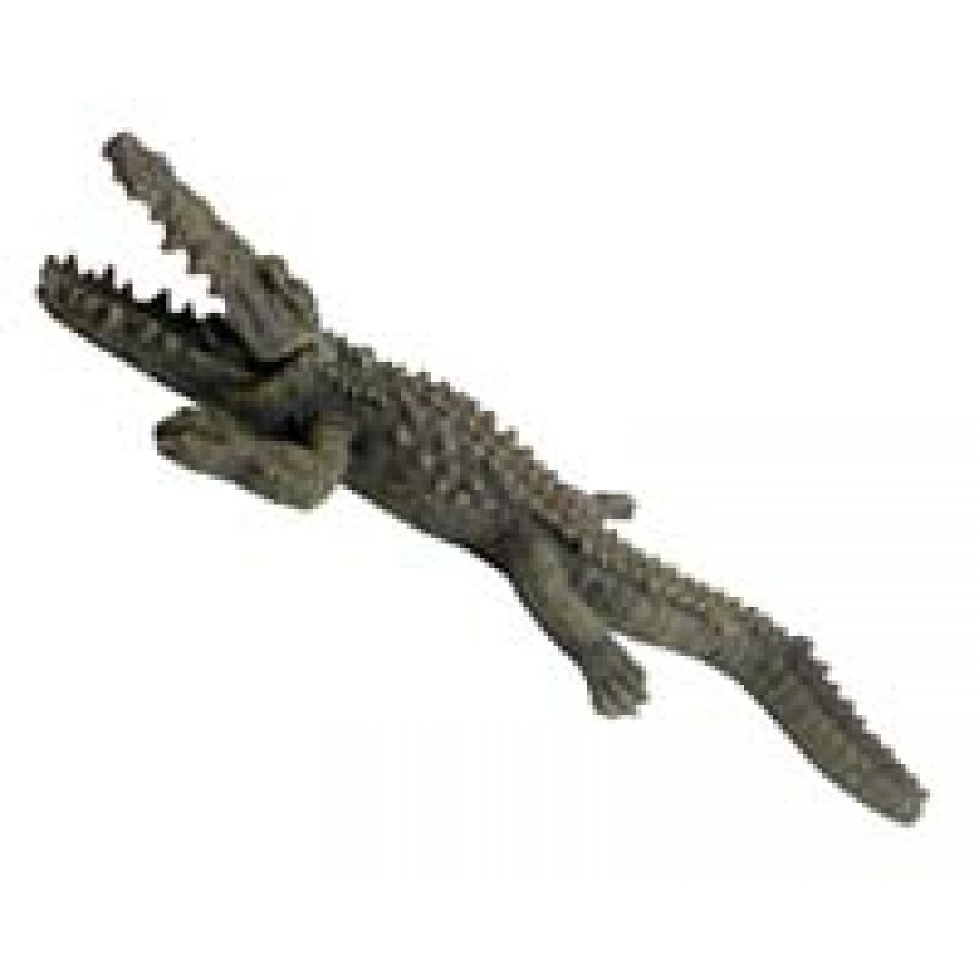 Bubbling Crocodile Aquarium Ornament 11 In.