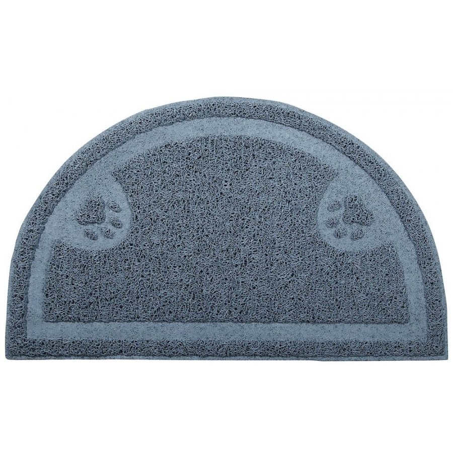 Litter Catch Mat For Cats / Half Circle Design