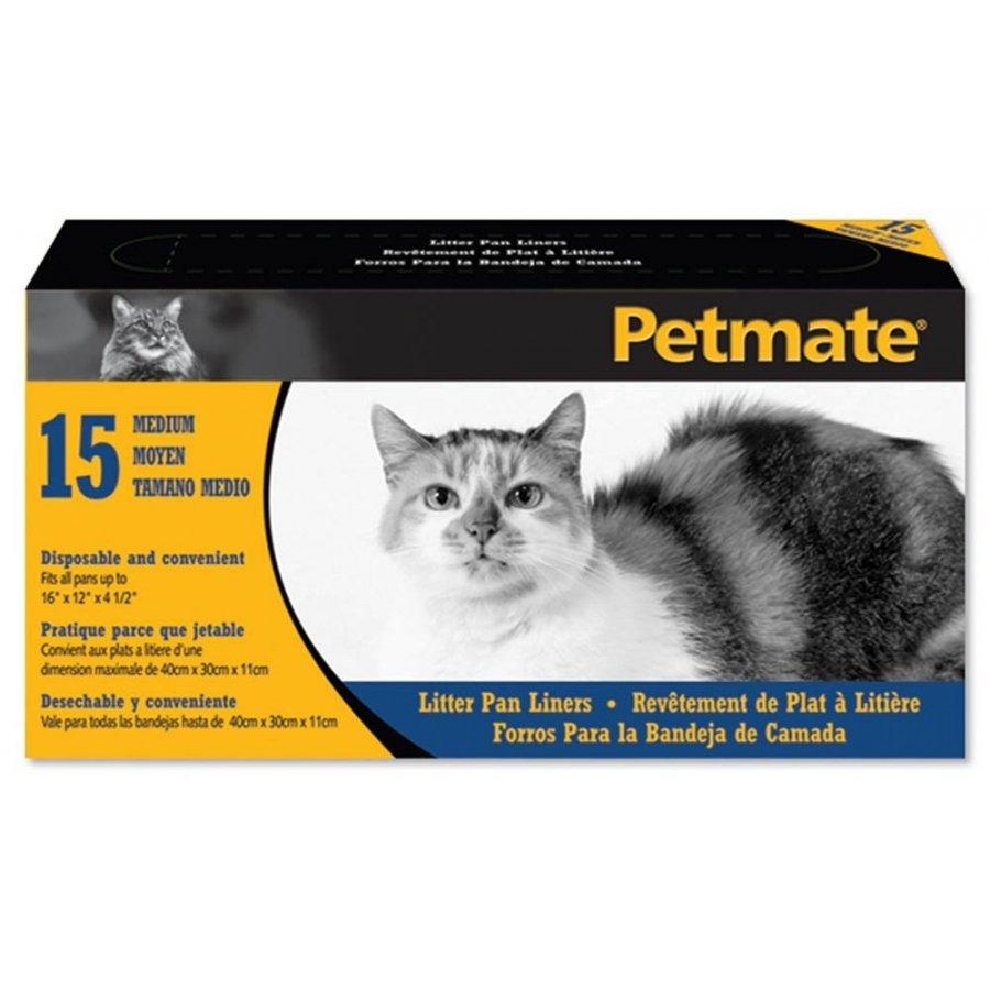 Petmate Cat Pan Liners / Size Medium