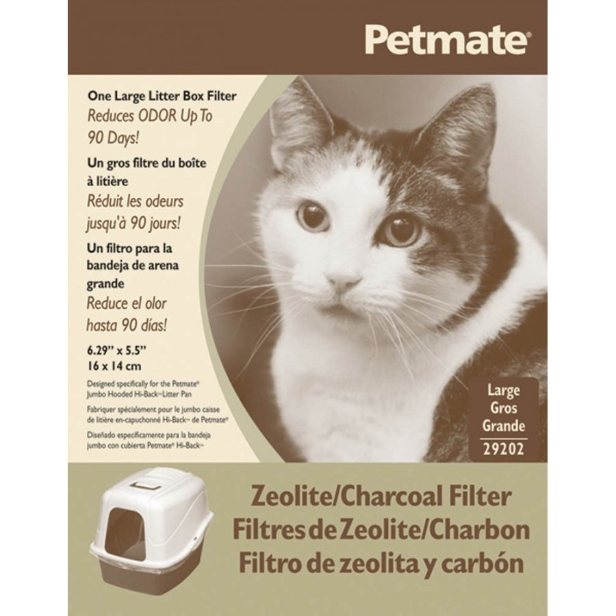 Basic Litter Pan Zeolite Filter / Size Large