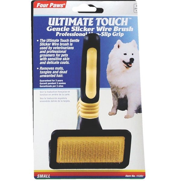Four Paws Ultimate Touch Slicker Wire Brush / Size Small