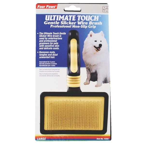 Four Paws Ultimate Touch Slicker Wire Brush / Size Large