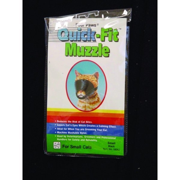 Quick Fit Muzzle For Cats / Size (Small) Best Price