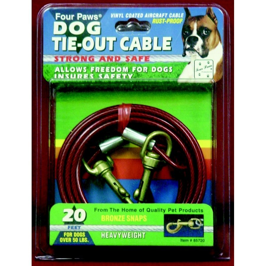 Heavy Tie Out Cable / Size 20 Ft