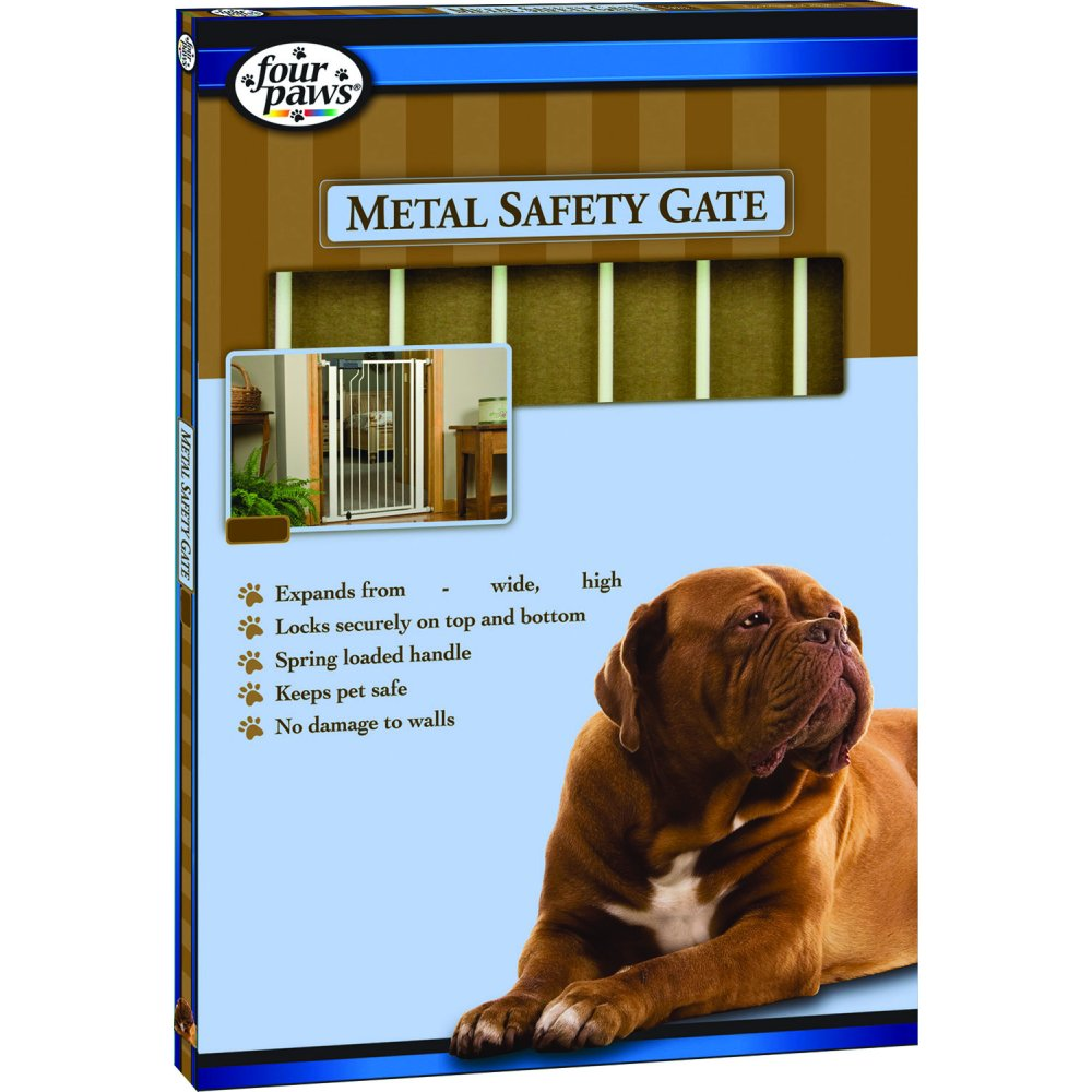 Metal Walk Thru Dog Gate / Height (41 in.) Best Price
