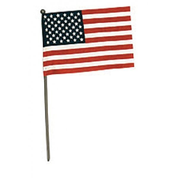 United States Hand Flag No-sew - 4x6 in. Best Price