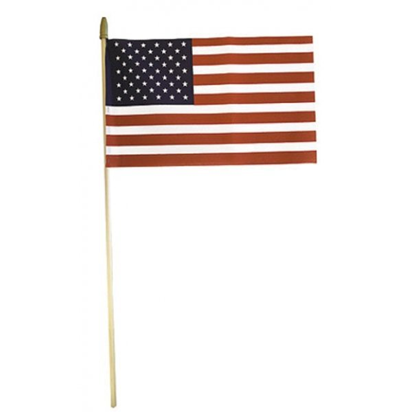 United States Hand Flag No-sew - 8 x 12 in. Best Price