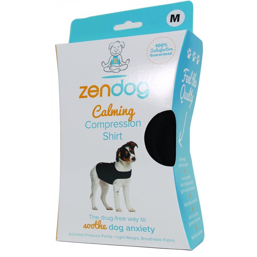 Zendog Calming Compression Dog Shirt Size 30 To 45 Lb