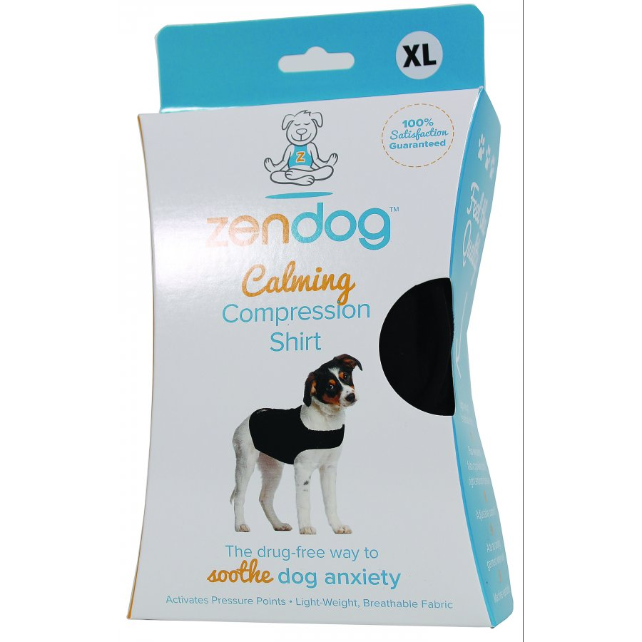 Zendog Calming Compression Dog Shirt Size 65 To 85 Lb