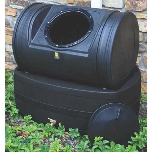 Compost Wizard Hybrid Rain Barrel /Composter / Color (Black) Best Price