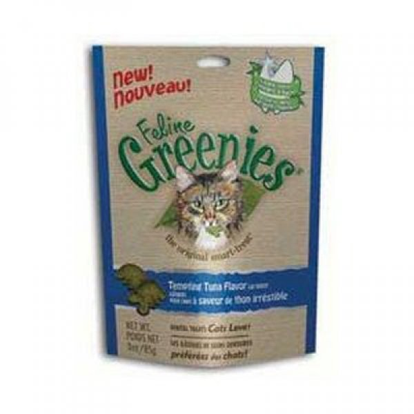 Feline Greenies Cat Dental Treats 3 oz. / Flavor (Tuna) Best Price