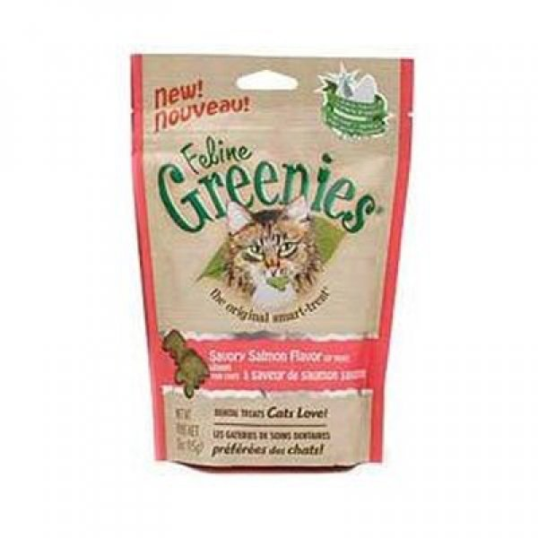 Feline Greenies Cat Dental Treats 3 oz. / Flavor (Salmon) Best Price