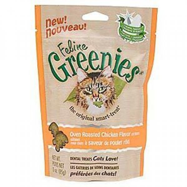Feline Greenies Cat Dental Treats 3 oz. / Flavor (Chicken) Best Price