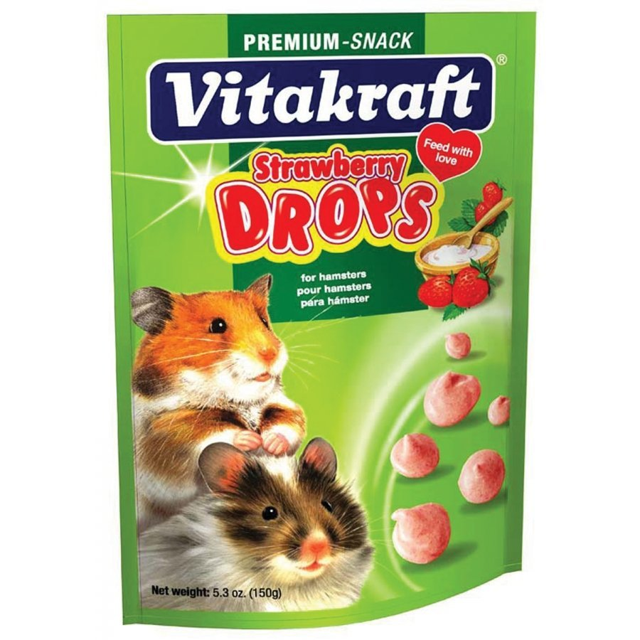 Hamster Strawberry Drops 5.3 Oz.