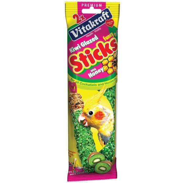 Kiwi Glazed Bird Treat Stick - 2 ct. Best Price
