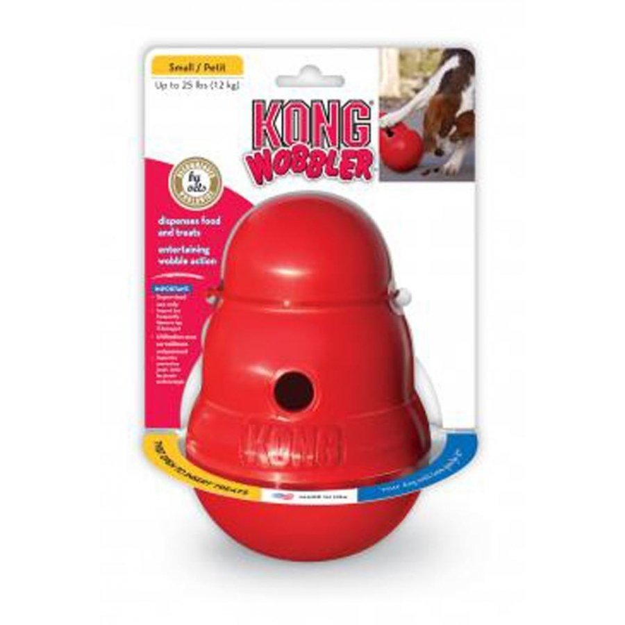 Kong Dog Wobbler Red / Small