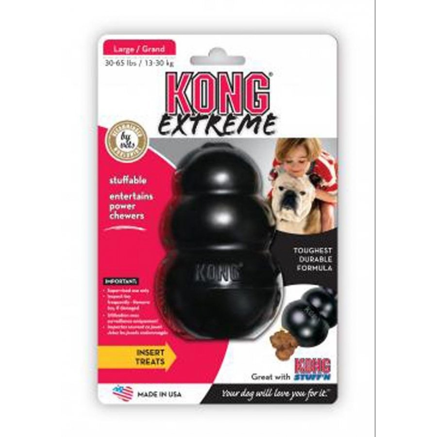 Kong Classic And Extreme / Size Large Black