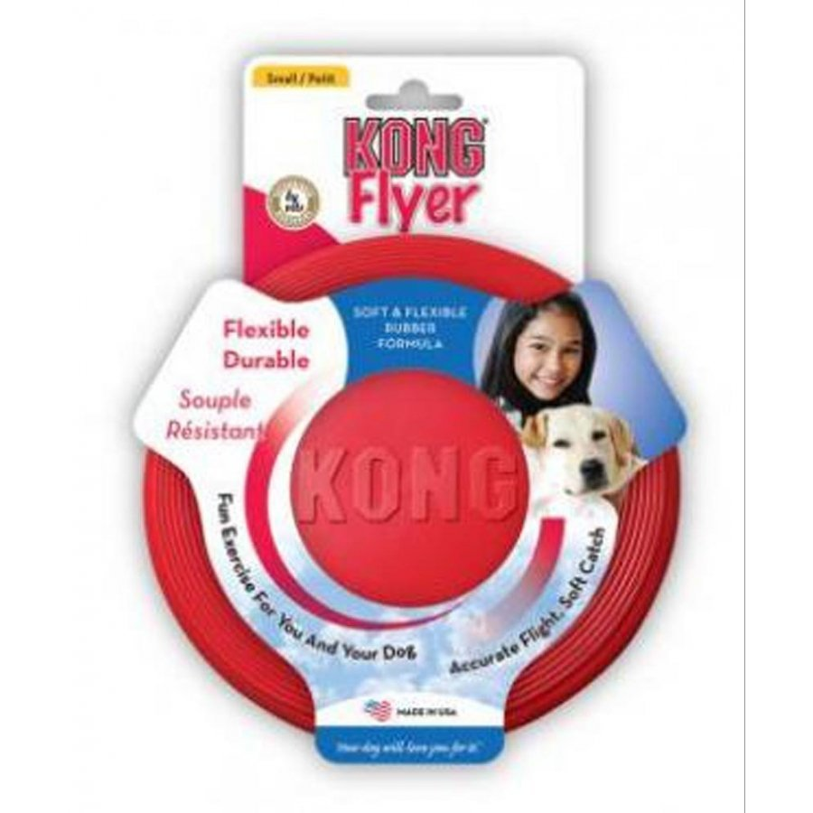 Kong Rubber Flyer For Dogs Small
