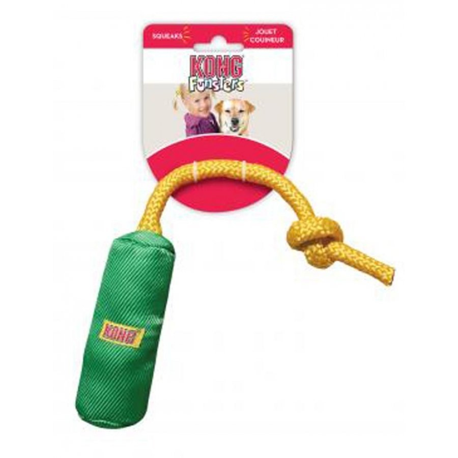 Funsters Cylinder Dog Toy / Size Xsmall