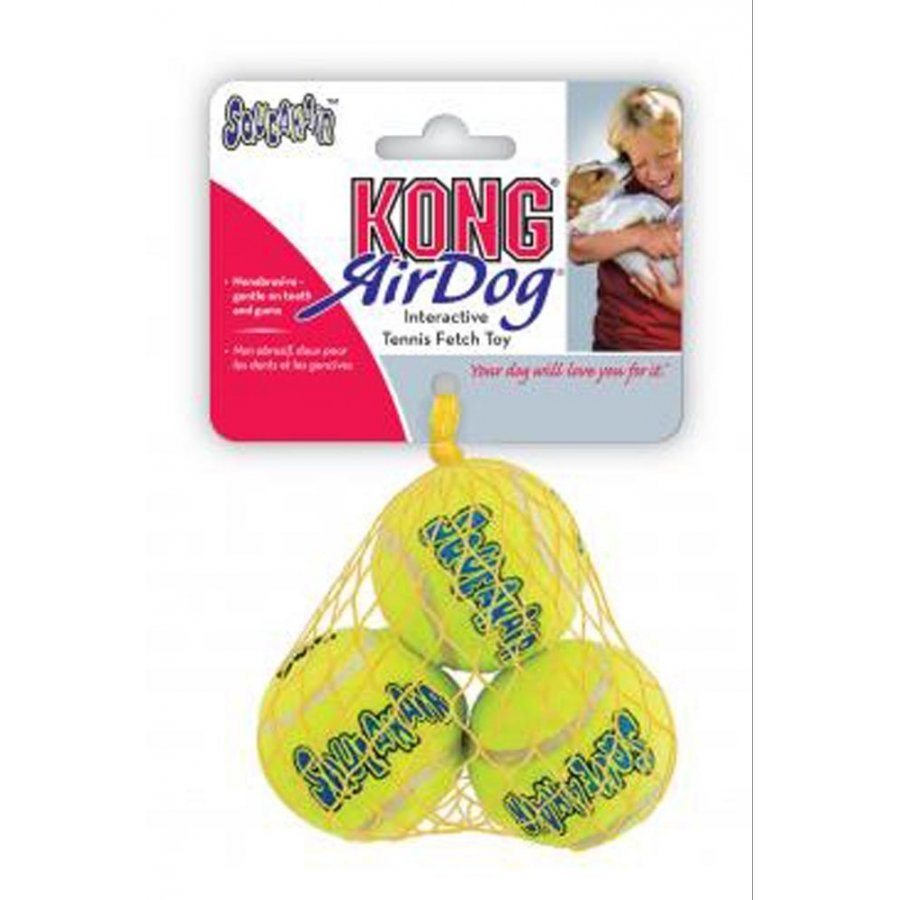 Kong Tennis Squeaker Balls For Dogs / Size Xsmall