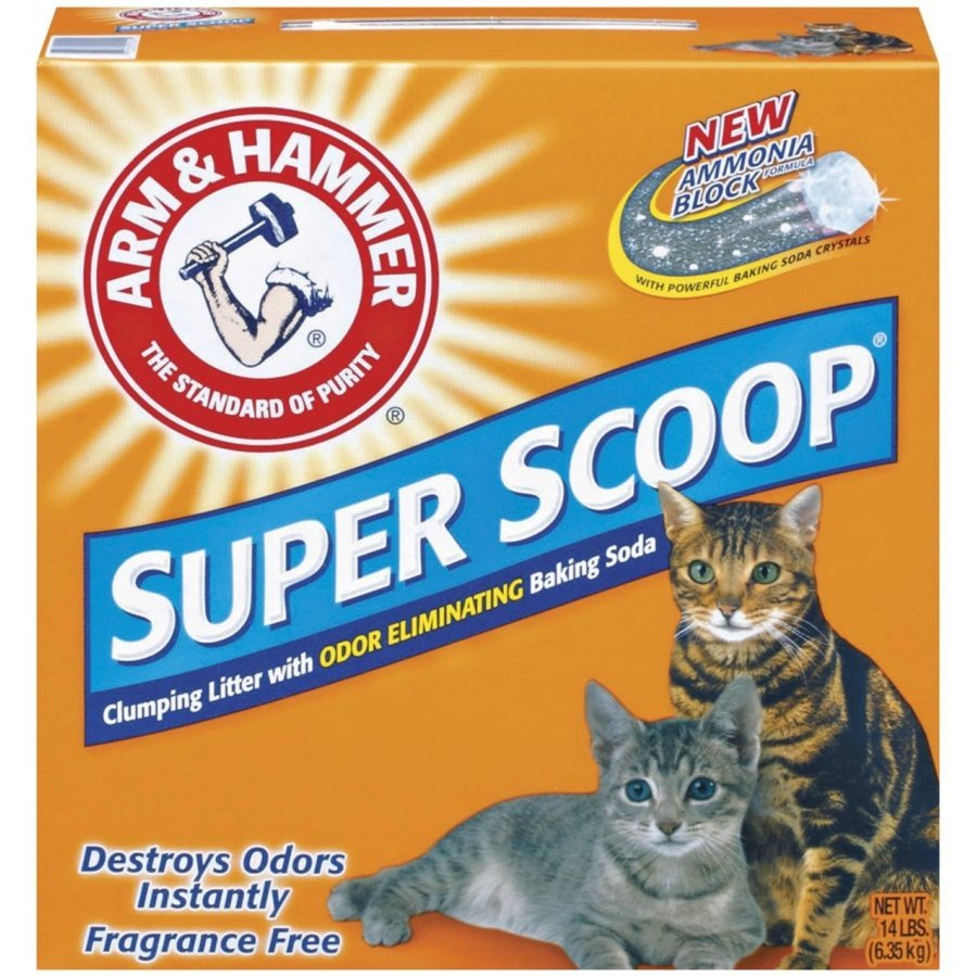 Super Scoop Clumping Litter Unscented / Size 14 Lbs