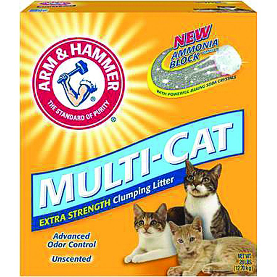 Arm And Hammer Multicat Clumping Litter / Size 28 Lb