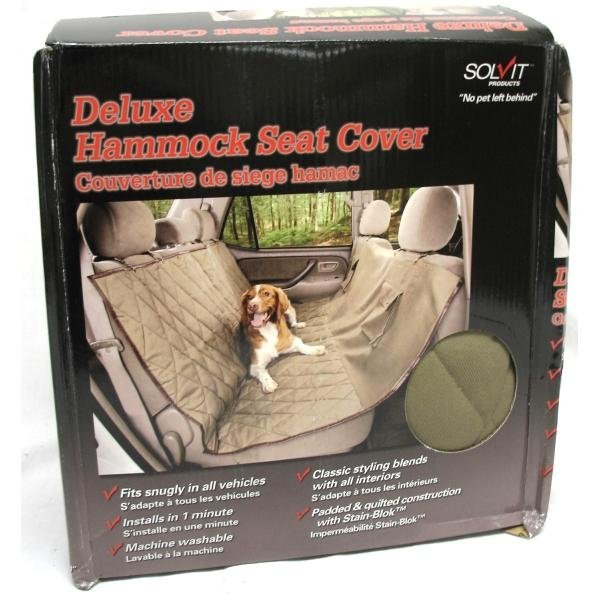 Deluxe Sta-put Hammock Pet Seat Cover Best Price