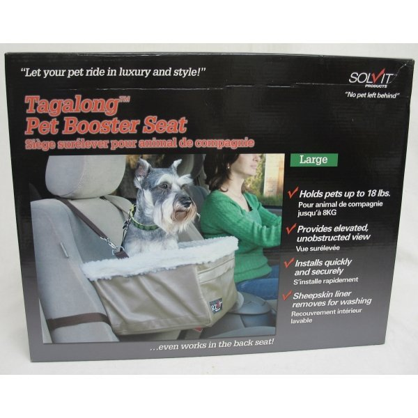 Tagalong Dog Booster Seat / Size (Large / Standard) Best Price