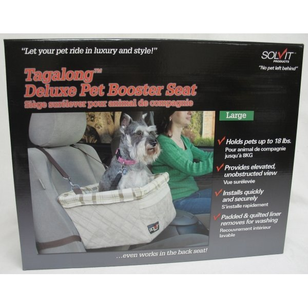Tagalong Dog Booster Seat / Size (Large Deluxe) Best Price